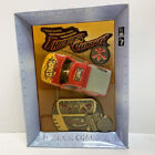 New Thunder Charger Remote Radio Control Red & Yellow Diecast Pick Up Truck Car