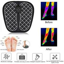 USA Circulation EMS TENS Machine Booster Foot Leg Blood Massager EPS Infrared