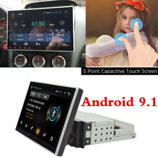 "1 Din Upgrade Android 9.1 Screen Angle Adjustable 10.1"" Car Navigation Player"