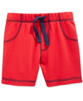 First Impressions Baby Boys' Red Knit Shorts, Retail $13.00