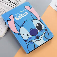 For iPad Mini 1 2 3 4 Lilo And Stitch Cartoon Anime Kids Stand Smart Case Cover
