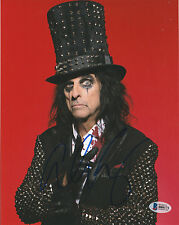 ALICE COOPER SIGNED AUTO'D 8X10 PHOTO BAS COA THE GODFATHER OF SHOCK ROCK HOF A