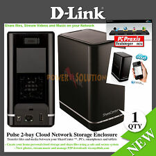 D-Link ShareCenter 2 Bay Cloud Network Storage Enclosure 0 GB DNS-320L