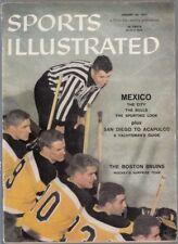 Sports Illustrated 1957 Boston Bruins No Label