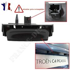 Bouton de coffre Citroen C4 Picasso avec micro switch  POIGNEE COFFRE C4 PICASSO