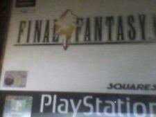 Sony Playstation - Final Fantasy IX (PS1) - 4 disc- NO MANUAL- Free Post