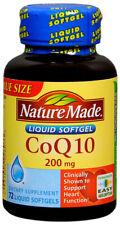 Nature Made Coq10 200 Mg Naturally Orange 80 Counts
