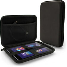 Black EVA Zipper Travel Hard Case Cover Sleeve for Linx 8 Tablet