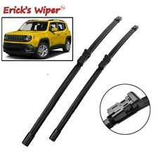 """2Pcs Front Windshield Wiper Blades For Jeep Renegade BU 2014-2019 2018 22""""+20"""""""