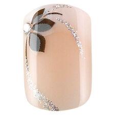 Kit 24 faux ongles Idyllic Nails - Shiny flower - Peggy Sage - 150084