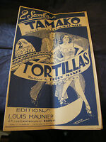 Partitura Nobisuke Louis Maunier Tortillas Teddy Maner Music Sheet