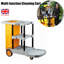 More details for janitorial housekeeping cleaning cart school hotel office housekeeping trolley