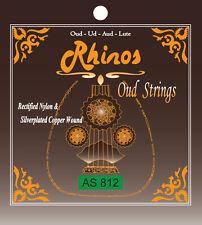 Rhinos AS812 Oud String 2nd Single String Crystal Nylon .032'' Top Quality