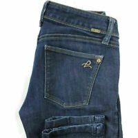 DL1961 Womens 26 Angel Mid Rise Skinny Ankle Dark Wash Blue 4-Way Stretch Jeans