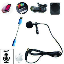 Mini Portable Clip Lapel microphone For Android apple phone and Recording Video