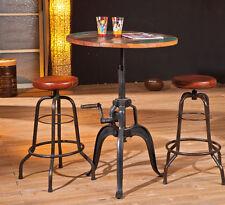 Esszimmertisch Esstisch Küchentisch 75 Cm rund Mango Metall Tisch Design Shabby