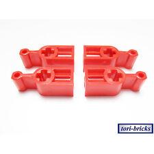 Lego Technik Getriebe / Kupplungs Schalt / Stell Hebel rot 4 Stück »NEU« # 6641