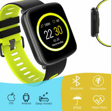 GV68 Sport Smart Watch Heart Rate Tracker Sleep Monitor Pedometer For IOS Huawei