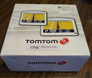 NEW TomTom ONE 3rd Edition Automotive Mountable GPS System Tom Tom