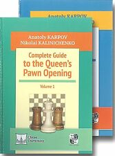 Complete Guide to the Queen's Pawn Opening. 2 book set. By Karpov &... NEW CHESS