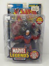 MAGNETO Marvel Legends MIP MOC Toy Biz X-MEN Series 3 Sentinel Base W/Comic Book