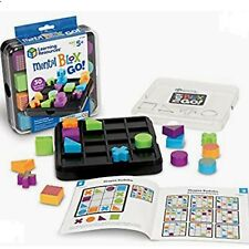 Learning Resources Mental Blox 3-D Puzzle Game Block Building Brain Game