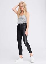 Rag & Bone Nina skinny crop leather pants, size 24 new, £950 on netaporter