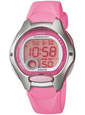 Casio Ladies Kids Digital Watch Lw200 Lw-200 Lw-200-4b Alarm Rubber Stopwatch