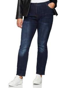 Jeans Ulla Popken Mandy Comfort Fit Stretch Jeans EU Size 60 New Sealed + Tags
