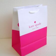 "Kate Spade NY Authentic Small Paper Shopping Bag Gift Bag 10.25""X 8""X 4.5"""