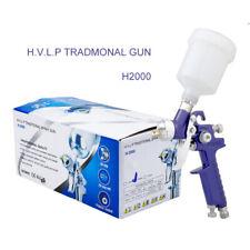 Mini Air Paint Spray Gun Hvlp 0.8/1.0mm Nozzle Auto Paint Sprayers Gun Tools Kit