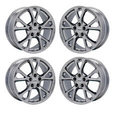 "18"" NISSAN MAXIMA PVD CHROME WHEELS RIMS FACTORY OEM 2015 2016 SET OF 4 62582"