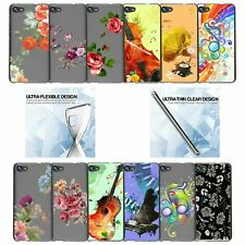 For Alcatel Pulse Mix | Crave | A50 (2017) Flexible TPU Case - Flower Designs