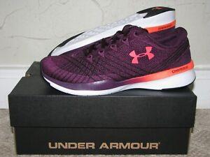 Under Armour Threadborne Push TR Merlot/Neon Coral Womens Size 5.5 DS NEW!