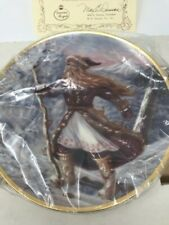 Duncan Royale Father Ice Portraits of Santa Plate Full Size New in Box