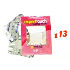 260 Wraps (13 X 20) OPI Expert Touch Removal Wrap as price 250 Roll Gel Remover
