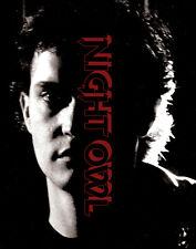 Night Owl Blu Ray + DVD Vinegar Syndrome Jeffrey Arsenault 1993 Arthouse Vampire