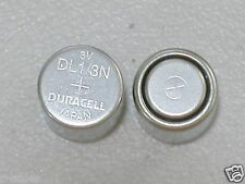 2 DURACELL CR1/3N 3v LITHIUM BATTERY PHOTO DL 1/3N KL76 K58L BULK EXPIRE 2024