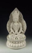 RARE CHINA ANTIQUES DEHUA WARE PORCELAIN KUANYIN BUDDHA