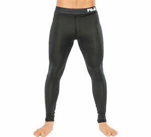 Fuji Sports Mens Baseline V2 MMA BJJ No Gi Competition Spats Compression Pants