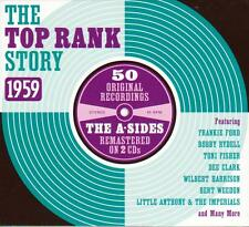 THE TOP RANK STORY - 1959 - 50 ORIGINALS - THE A SIDES (NEW SEALED 2CD)