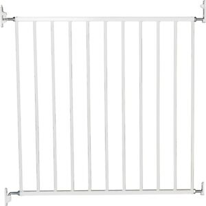 BabyDan No Trip Screw Fitted Baby Gate Child Safety Stair 71.5-78.5cm White NEW