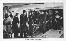 POSTCARD   SHIPS    HMS  VICTORY   Gun's  Crew