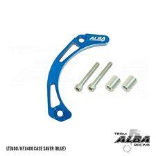 Suzuki LTZ 400 LTZ400  Case Saver  Billet Aluminum  Blue   Alba Racing  206-T6-L