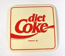 COCA-COLA COKE Cork Coasters Beer Coasters Coaster USA - Diet Coke Logo White