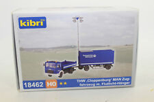 Kibri 18462 THW Man Tractor With Floodlight Trailer 1:87 New Original Packaging