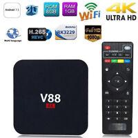V88 4K BOX Android 7.1 Hot Smart RK3229 Quad Core HD WiFi Media Player Sale