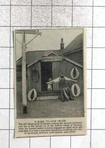 1951 FB Wells Harness Maker Trading In Saxtead Village