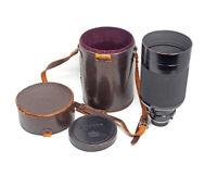 Nippon Kogaku  500mm F5.0 Reflex Nikkor Mirror Lens W/Filter Kit & Case  TESTED