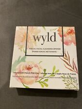 Wyld Konjac Facial Cleansing Sponge - Infused with French Pink Clay